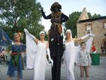 Mittelalterliche Hexenshow